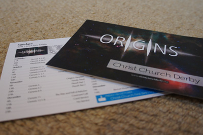 Christ Church Derby Term Card