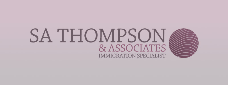 SA Thompson Logo Design